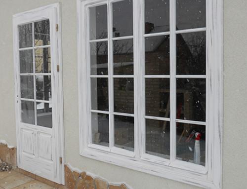 Okna i drzwi w stylu dequpage